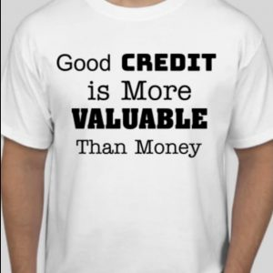 Good Credit More Valuable Than Money